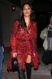 Nicole Scherzinger - Outside Craig's Restaurant in West Hollywood