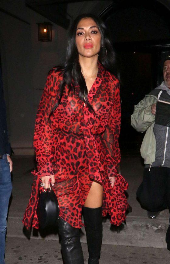 Nicole Scherzinger - Outside Craig's Restaurant in West Hollywood