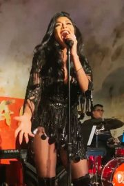 Nicole Scherzinger - Performing at Django in New York