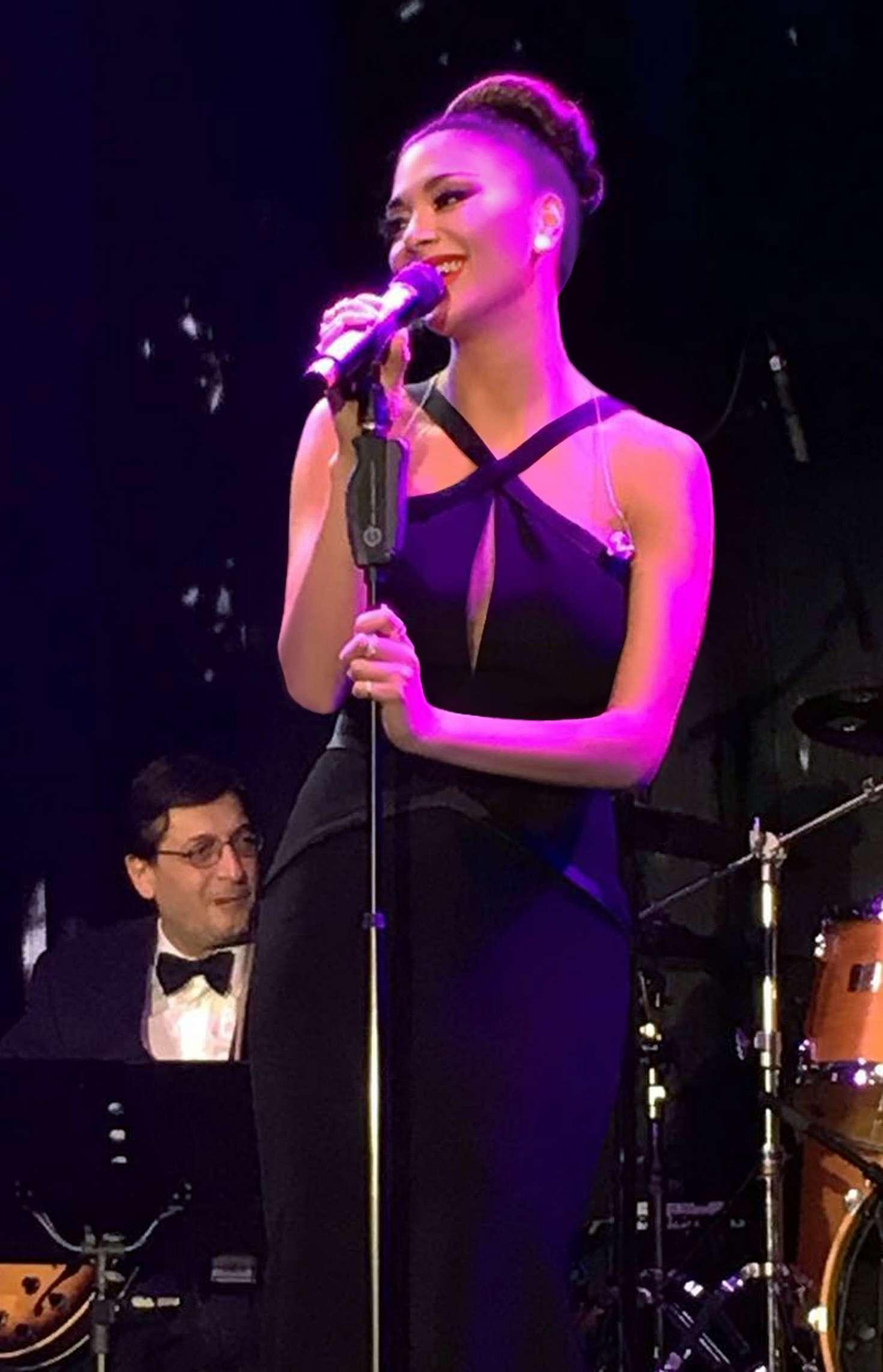 Nicole Scherzinger - Performing at The Glock Horse Performance Center show in Austria
