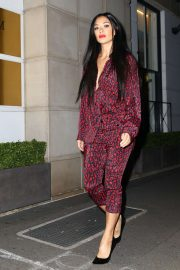 Nicole Scherzinger - Returning To Her Hotel in Sydney