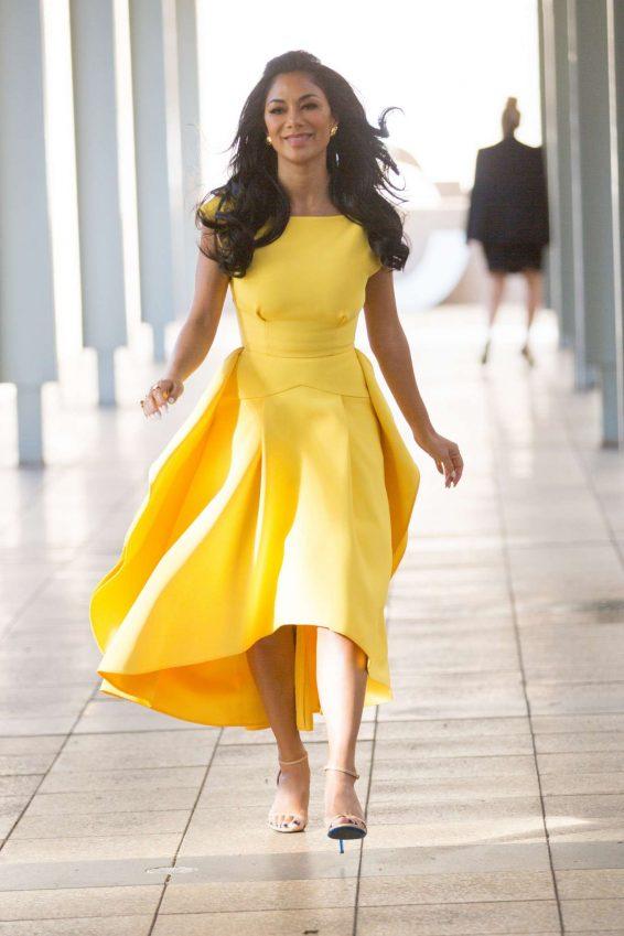 Nicole Scherzinger 2019 : Nicole Scherzinger – Seen leaving Nova radio in Pyrmont – Sydney-05