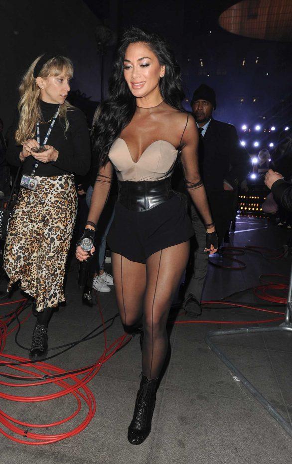 Nicole Scherzinger - Seen leaving the Radio 1 studios in London