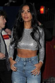 Nicole Scherzinger - Seen leaving X Factor Studios in London