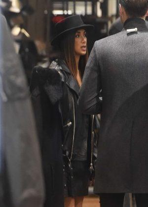 Nicole Scherzinger - Shopping at AllSaints in London