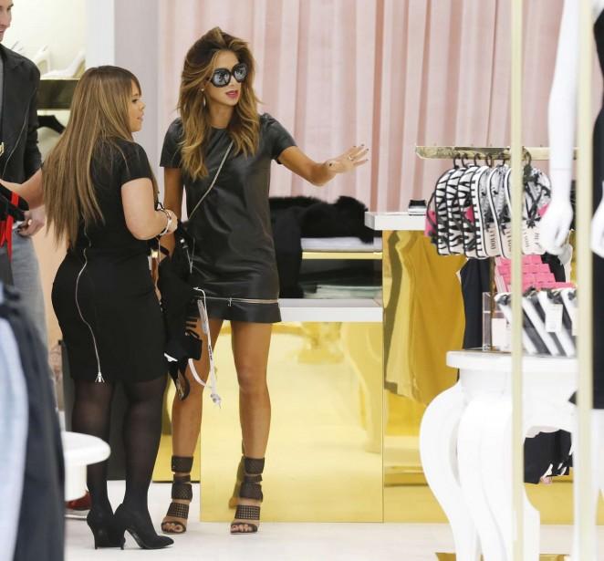 Nicole Scherzinger in mini Dress -05