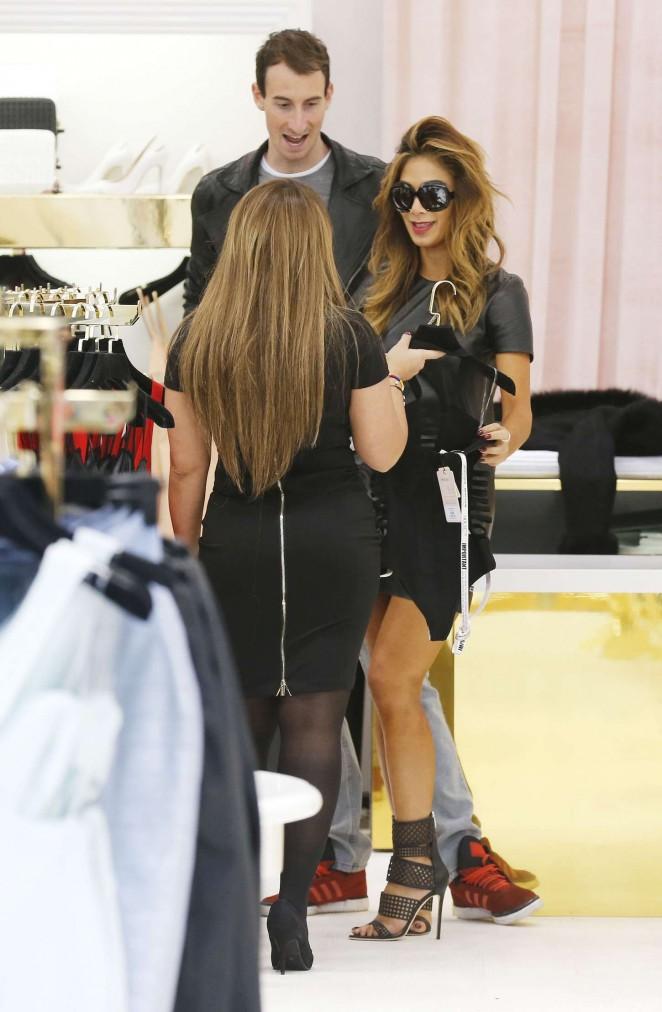 Nicole Scherzinger in mini Dress -14