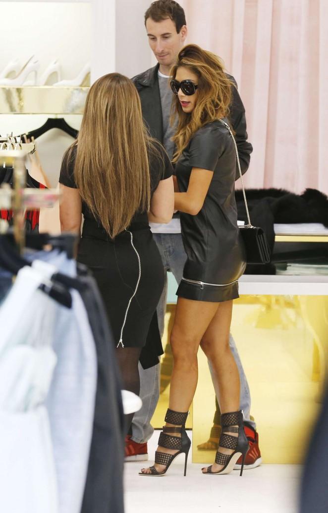 Nicole Scherzinger in mini Dress -15