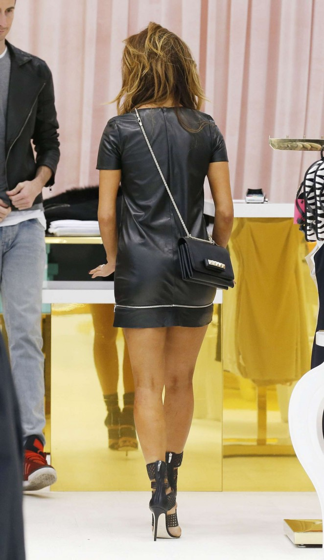 Nicole Scherzinger in mini Dress -20
