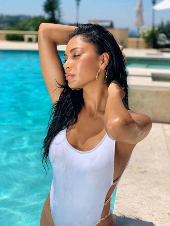 Nicole Scherzinger - Swimsuit Photoshoot 2019