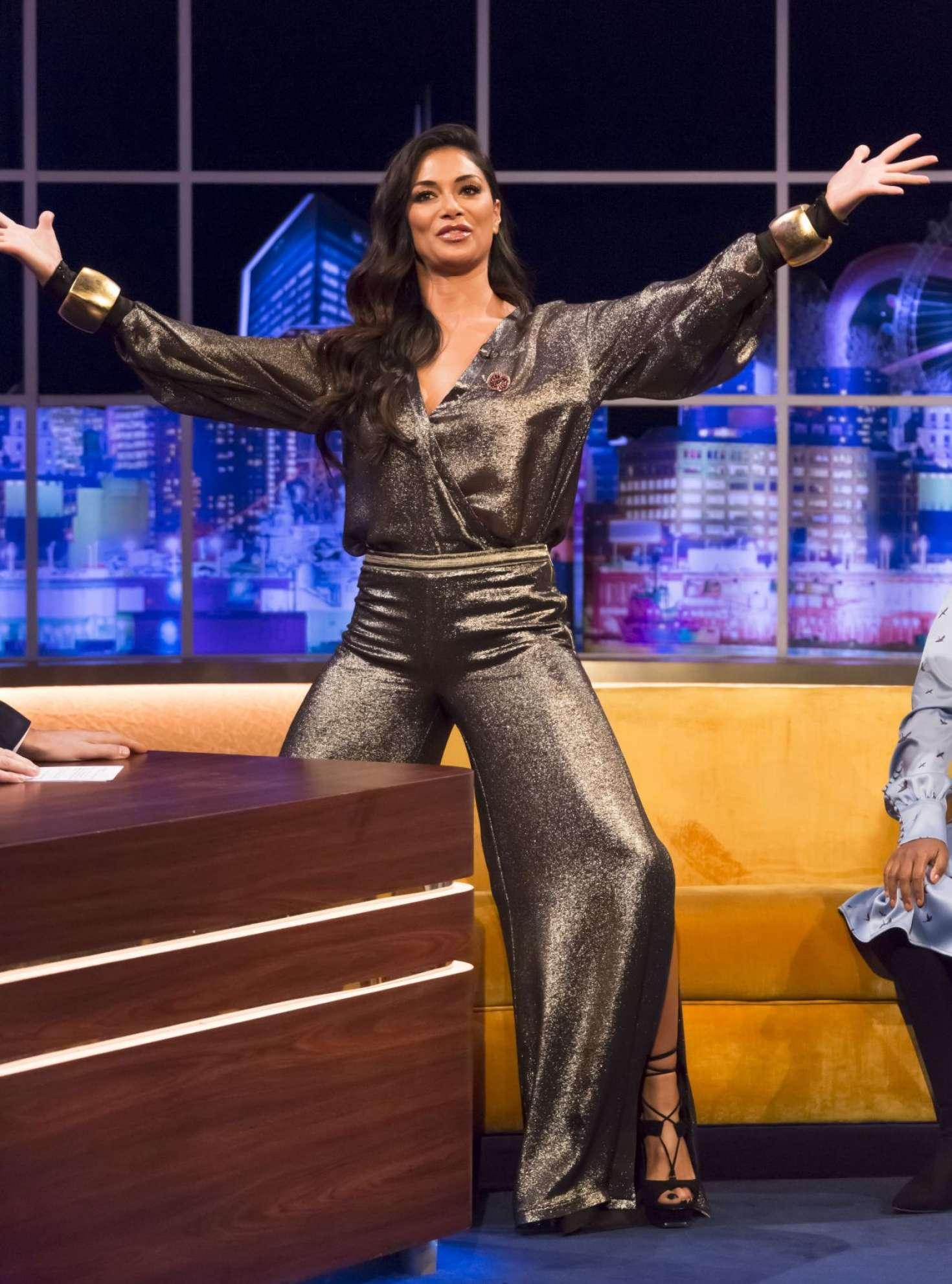 Nicole Scherzinger - The Jonathan Ross Show in London