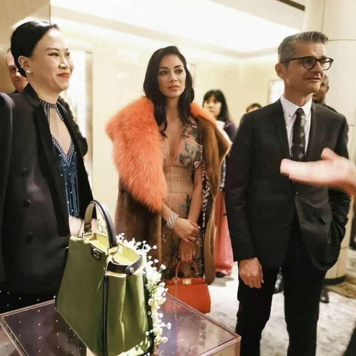 Nicole Scherzinger: The Shapes of Water Exhibition by Hong Kong Fendi -03