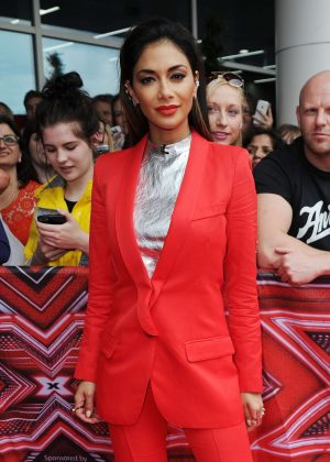 Nicole Scherzinger - The X Factor Auditions in Leicester