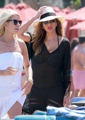 Nicole Scherzinger Hot in Bikini -04