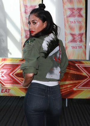 Nicole Scherzinger - X Factor Auditions in Manchester