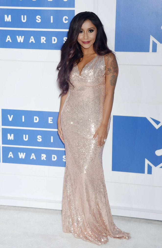 Nicole Snooki Polizzi - 2016 MTV Video Music Awards in New York City