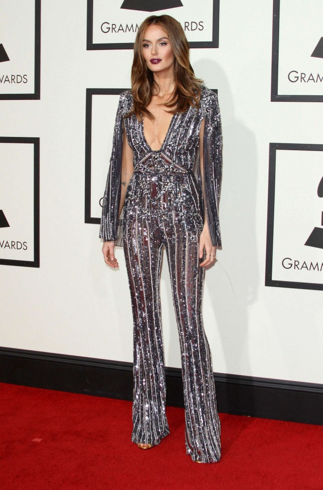 Nicole Trunfio - 2016 GRAMMY Awards in Los Angeles