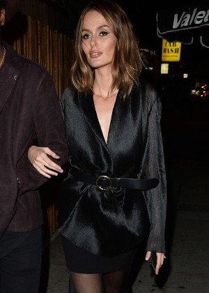 Nicole Trunfio Arrives at The Nice Guy in West Hollywood