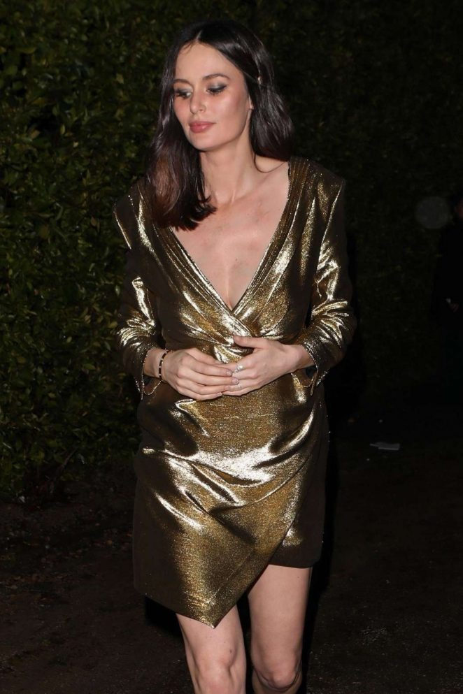 Nicole Trunfio - Arrives at WME Talent Agency Party in Los Angeles