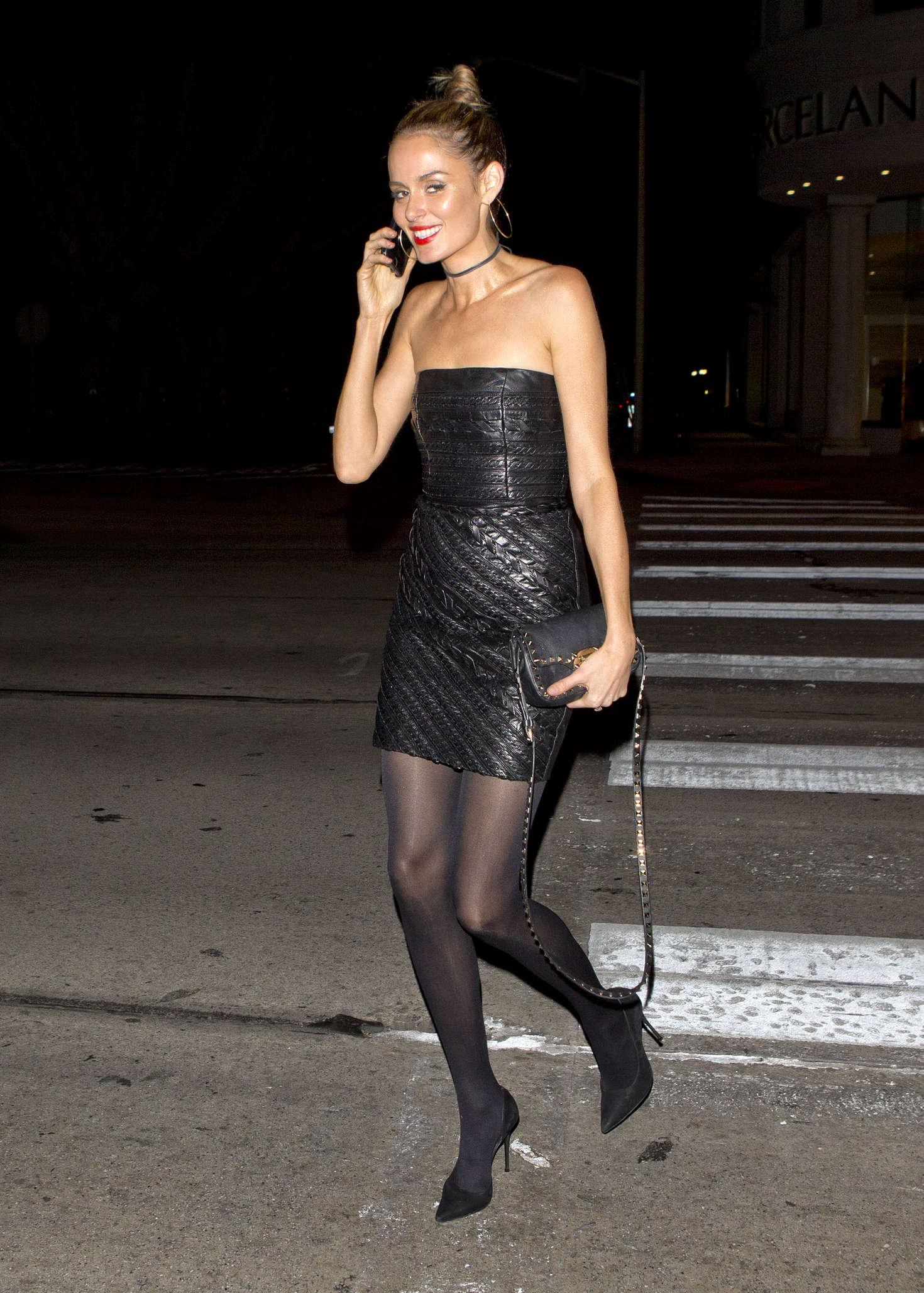 Nicole Trunfio 2016 : Nicole Trunfio Arriving at Madeo Restaurant -03