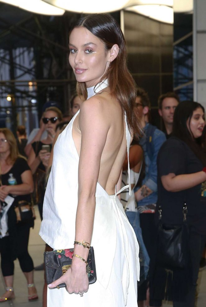 Nicole Trunfio - Arriving at The Daily Front Row's 4th Annual Fashion Media Awards in NY