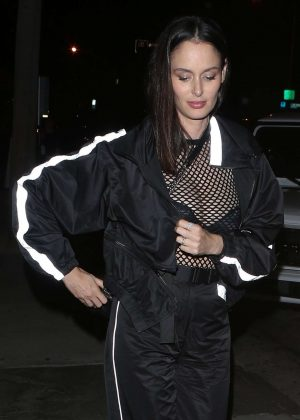 Nicole Trunfio at Craig's in West Hollywood