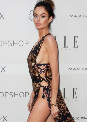 Nicole Trunfio - Elle Style Awards 2015 in Sydney