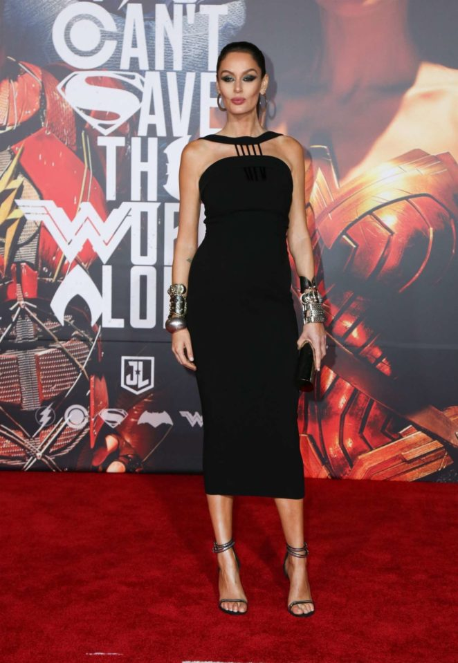 Nicole Trunfio: Justice League Premiere in LA -07