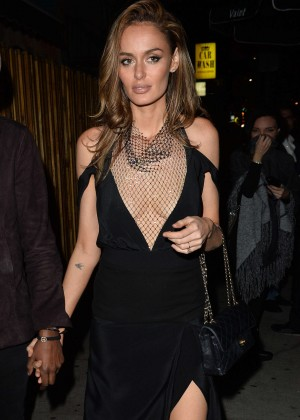 Nicole Trunfio Leaves a Club in West Hollywood