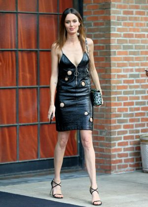 Nicole Trunfio - Leaves The Bowery Hotel in New York City