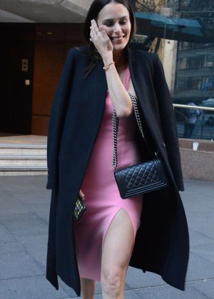 Nicole Trunfio - Leaves the Morning Show in Sydney
