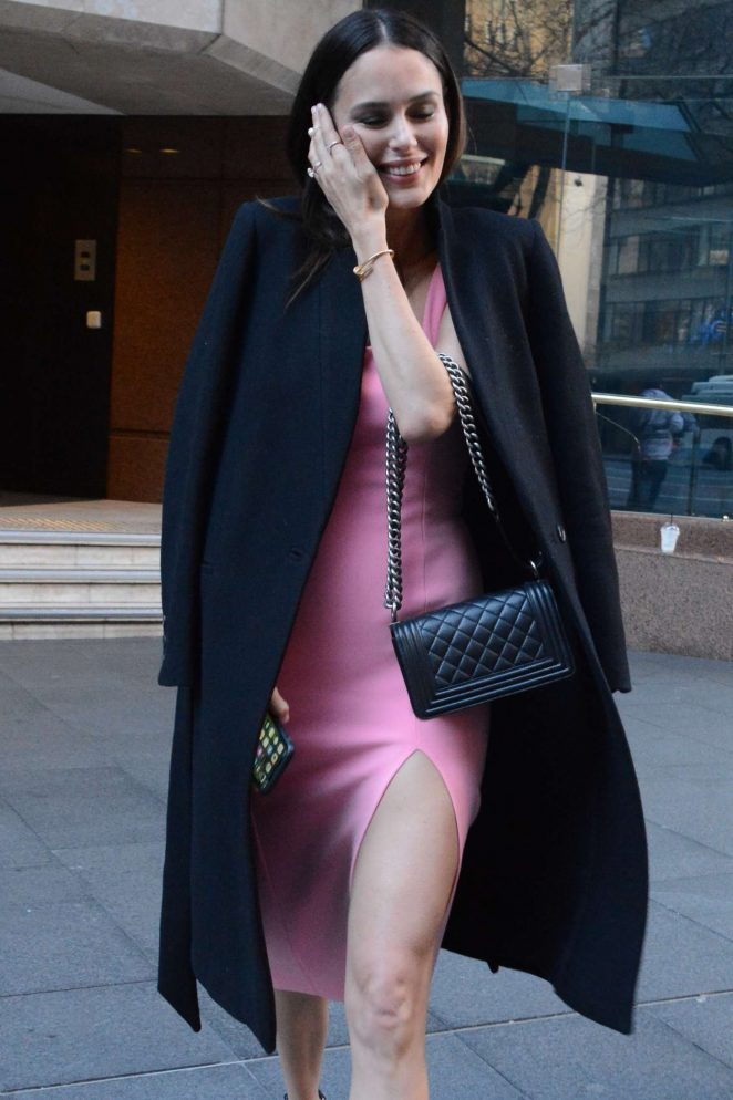 Nicole Trunfio – Leaves the Morning Show in Sydney