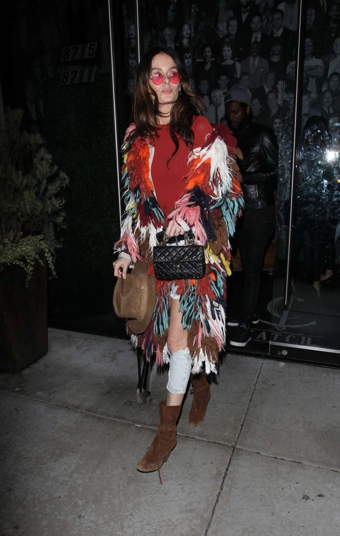 Nicole Trunfio - Leaving Catch Restaurant in West Hollywood