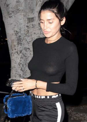Nicole Williams at Madeo Restaurant in Hollywood