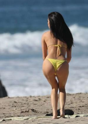 Nicole Williams Bikini Photoshoot In Los Angeles Gotceleb