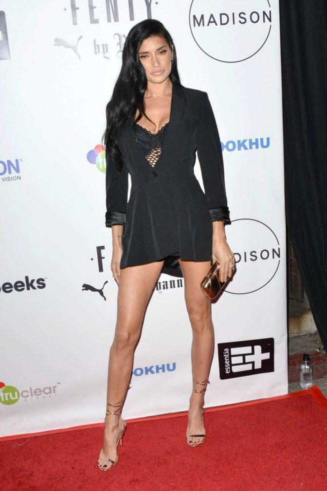 Nicole Williams – FENTY Puma Launch 2017 in Beverly Hills