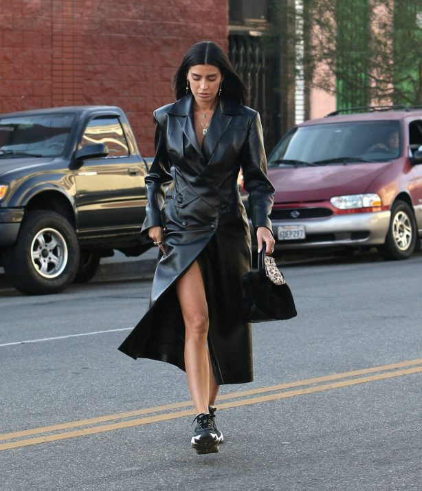 Nicole Williams - Heading to the Soho House Hotel in Los Angeles