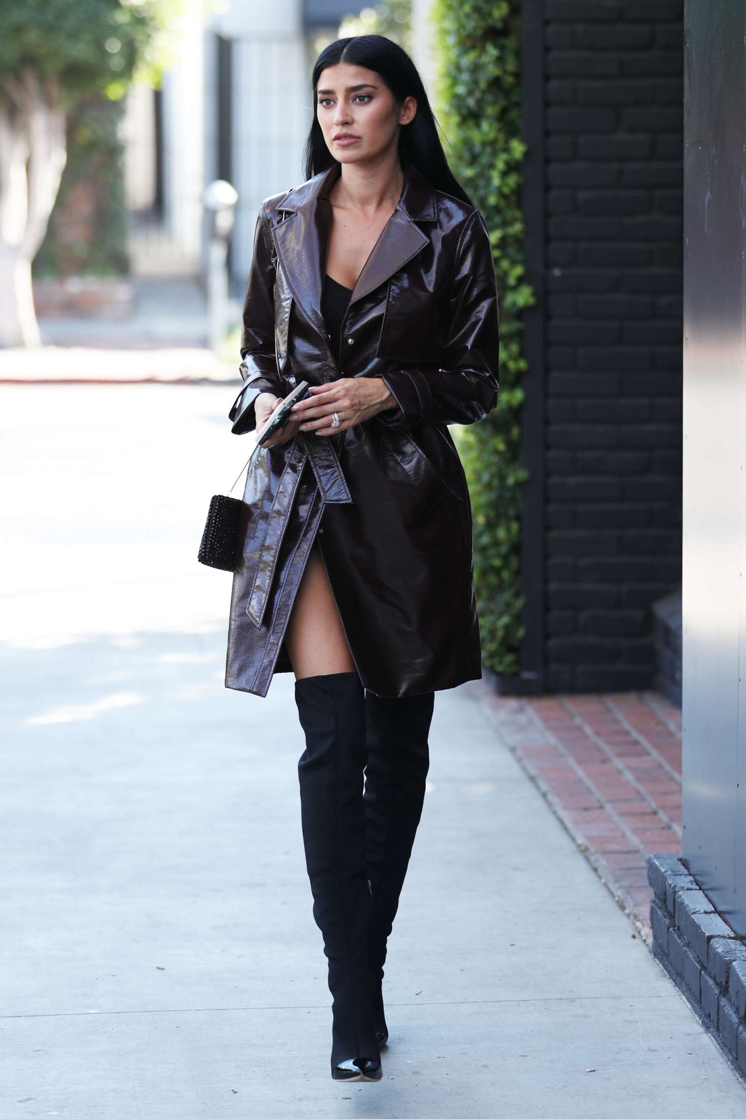 Nicole Williams - Shopping at Balmain in West Hollywood