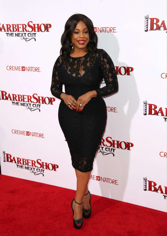Niecy Nash - 'Barbershop: The Next Cut' Premiere in Hollywood