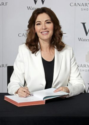 Nigella Lawson - At My Table Book Signing in London