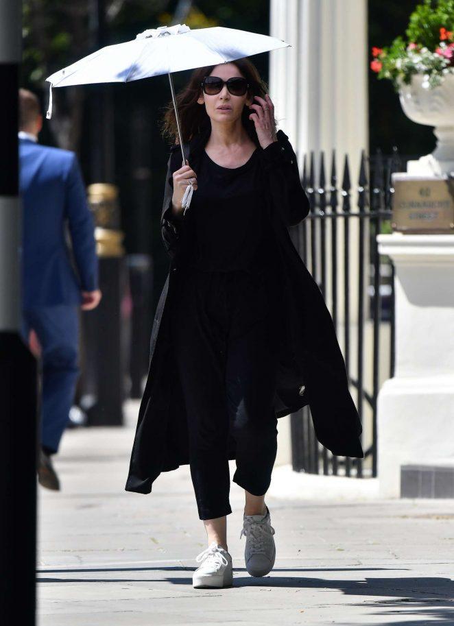 Nigella Lawson out in London