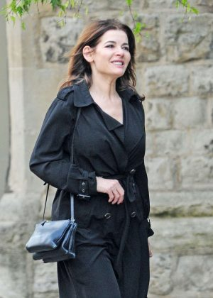 Nigella Lawson out in Notting Hill