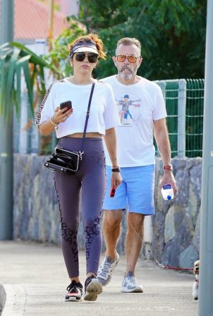 Nigora Whitehorn (Bannatyne) - Strolling during holiday in St Barts