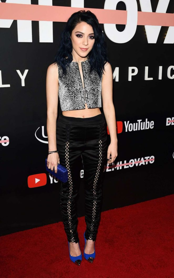 Niki Demartino – 'Demi Lovato: Simply Complicated' Youtube Premiere in LA