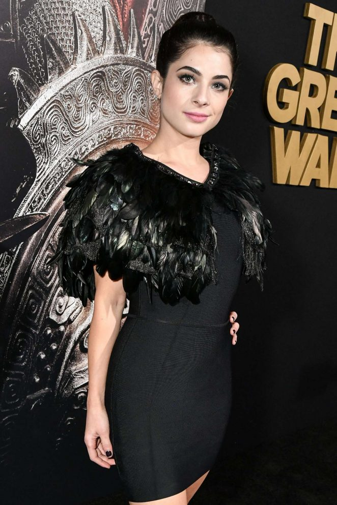 Niki Koss - 'The Great Wall' Premiere in Hollywood