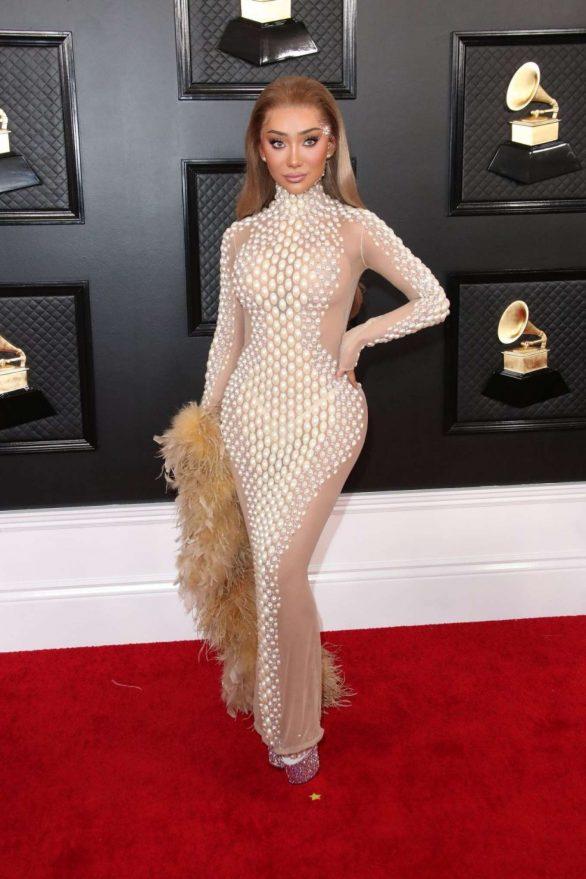 Nikita Dragun - 2020 Grammy Awards in Los Angeles