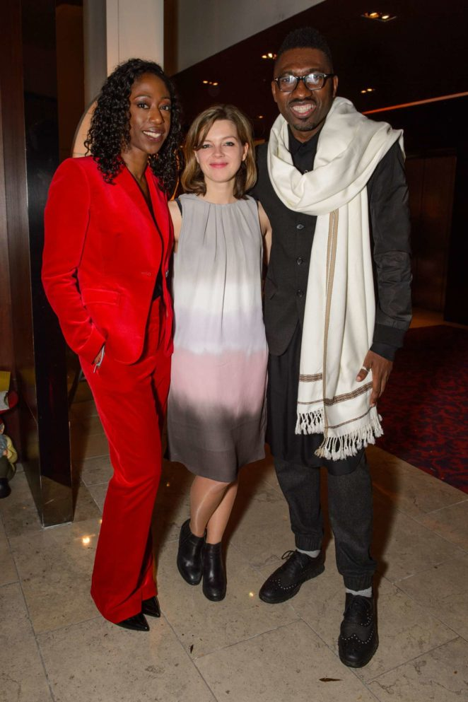 Nikki Amuka-Bird: The Lady From the Sea Press Night -07