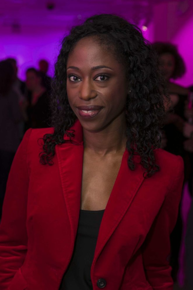 Nikki Amuka-Bird: The Lady From the Sea Press Night -10