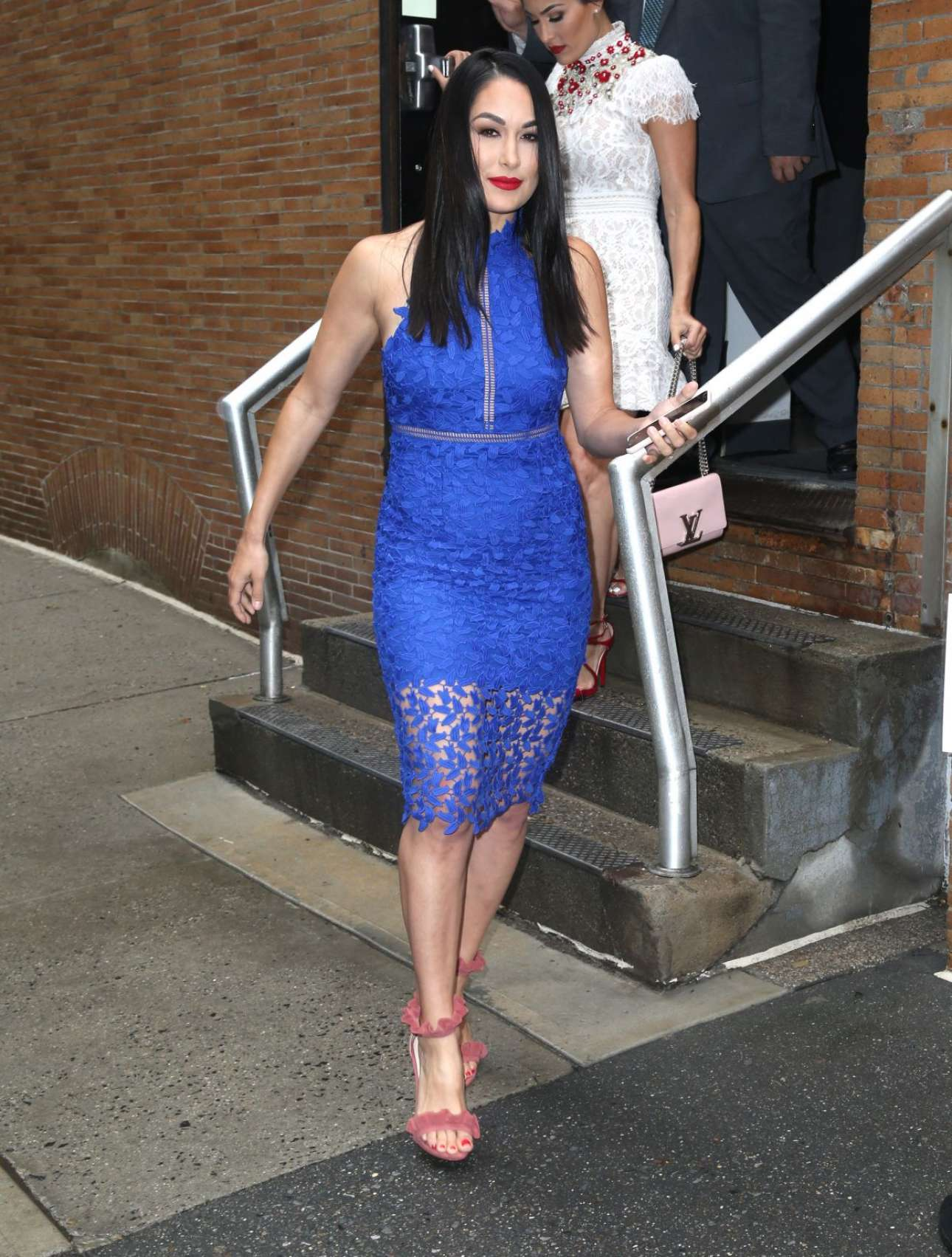 Brie Bella 2018 : Nikki And Brie Bella Arrives: Seen at The Chew In New York-10