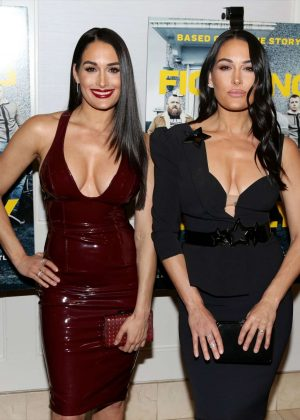 Nikki and Brie Bella - 'Fighting With My Family' Screening in Los Angeles
